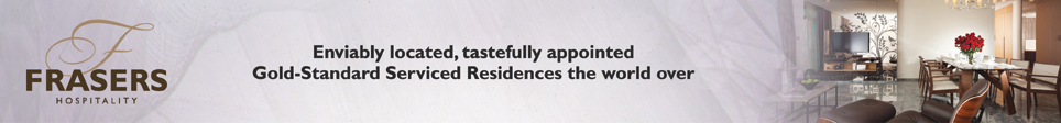 Frasers Hospitality - Enviably located,tastefully appointed Gold-Standard Serviced Residences the world over